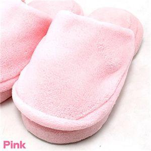 低反発プルプル5本指スリッパ ピンク