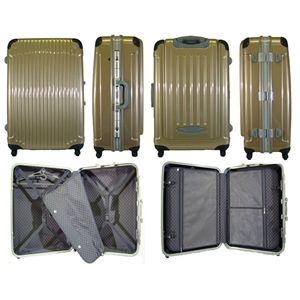 TSA搭載ハードキャリーケース 71C クリアシルバー