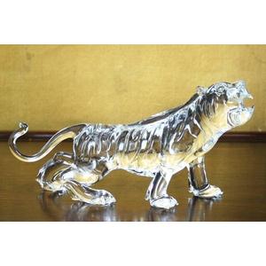 クリスタル タイガー 置物 CT002
