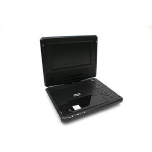 7インチポータブルDVDプレーヤー&ワンセグ 一体型 RV-700 1SEG ブラック