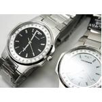 テクノス 腕時計 スリム メンズ ホワイト