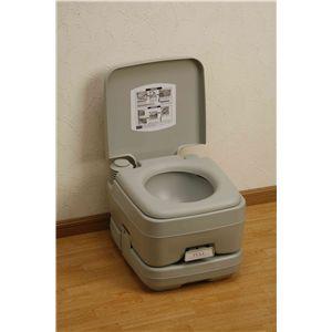 本格派ポータブル水洗トイレ 10リットル の詳細をみる