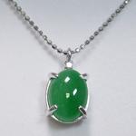 《地球遺産シリーズ》シルバー3.0ctup 翡翠(ヒスイ)ダイヤモンド入りネックレスの詳細ページへ