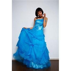 ♪ロングドレス♪SLB010BL M