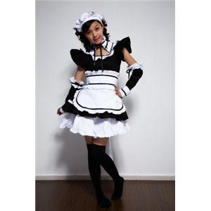 ♪ゴスロリ メイド服★コスプレ衣装XSサイズ〜XLサイズ,991001 XL