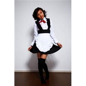 ♪ゴスロリ メイド服★コスプレ衣装 Lサイズ ,6011 L
