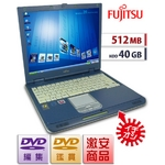 �����PC�ۡ�512MB/40GB��DVD���ԡ�&�Խ���ʰ¡�Lifebook FMV-NU3��