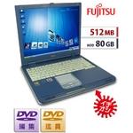 【中古PC】【512MB/80GB】DVDコピー&編集★格安★Lifebook FMV-NU3★