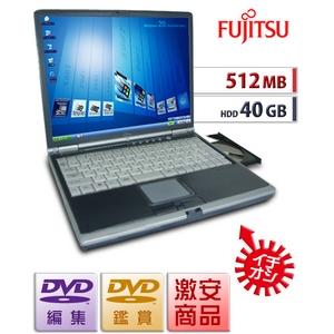 【中古PC】【512MB/40GB】DVDコピー&編集★格安★Lifebook FMV-MG★