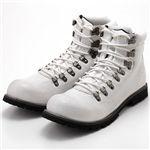 CHIRISTIAN ANDREWS マウンテンカジュアルブーツ CA463 ホワイト 41(25.5cm)