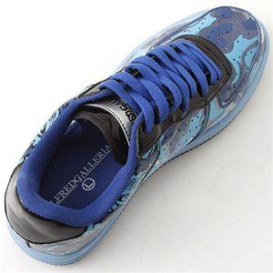 ALFRED GALLERIA(アルフレッド ギャレリア) transparent スニーカー ブルー L(26.0-26.5cm)