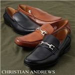 CHRISTIAN ANDREWS(クリスチャン アンドリュース) ドライビングシューズ CA4328 ビット ブラウン 43(26.5cm)