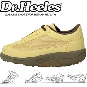 Dr.heelesウォーキングシューズ カジュアル ベージュ 25.0cm