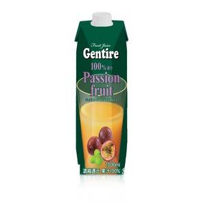 Gentire(ジェンティーレ) パッションフルーツジュース 1L×6本