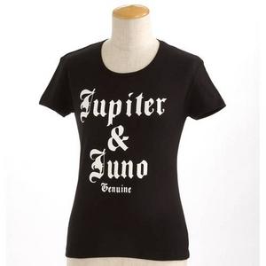 Jupiter&Juno(ジュピターアンドジュノ) K-001T/ロゴTシャツ ブラック