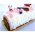 【12月8日で予約終了 2010年クリスマス向け】ノエルいちごケーキ【12/21より順次発送】