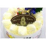 【12月8日で予約終了 2010年クリスマス向け】クリスマスケーキ ホワイト5号 【12/21より順次発送】