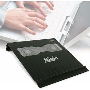VIZO(ヴィゾ) ノートパソコン用クーラー NINJA BLACK NCL-210-BK