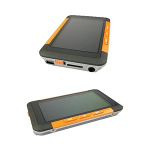 3インチ液晶 MP3/MP4プレーヤー 8GB F098 オレンジ