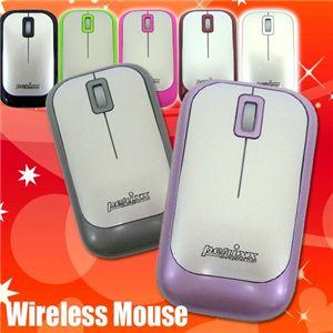perixx(ペリックス) 2.4GHzの安定ワイヤレスのマウス PERIMICE-706 アイアンシルバー