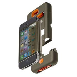 米国軍用規格 iPhone4/4Sケース TANK CM016802 ミリタリーグリーン×オレンジ