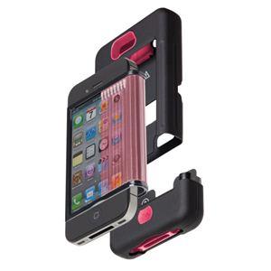 米国軍用規格 iPhone4/4Sケース TANK CM016803 ブラック×ピンク