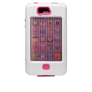 米国軍用規格 iPhone4/4Sケース TANK CM016805 ホワイト×ピンク