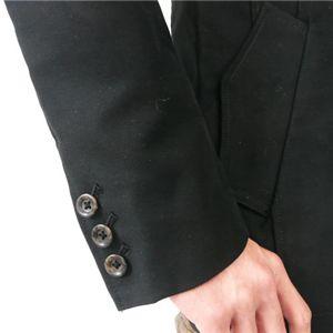 ジャケットコート 日本製(1214) ブラック L