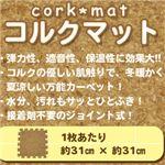 ジョイント式コルクマット 108枚(約6畳用)