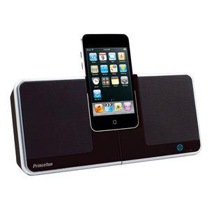 Princeton iPhone/iPod対応コンパクトスピーカー「i-Swing」 ブラック