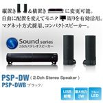 Princeton Dual Way Speaker (USB給電PC用スピーカー) ブラック PSP-DWB