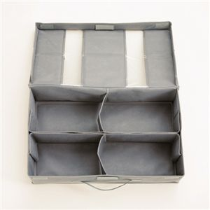 竹炭収納ケース 衣類ケース 3個 & スライド式シューズケース 1個 【押入れ収納】