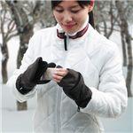 カイロ内蔵可能 ミトン型手袋 kaishion(快指温)Mサイズ