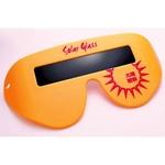太陽観察専用グラス 「Solar Glass」(ソーラーグラス)オレンジ