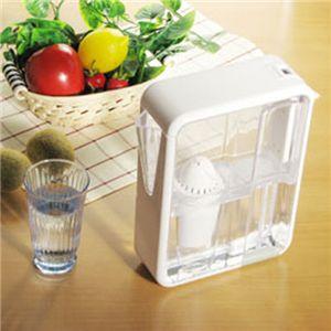 テライヨン浄水器 1.5LArtic + カートリッジ3P ホワイト