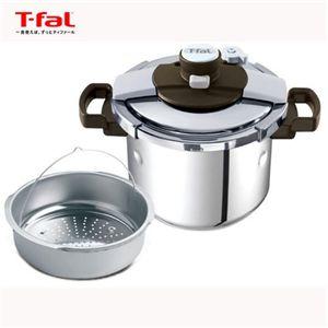 T-fal(ティファール) 圧力鍋 【IH対応】 クリプソ プルミエ 6L