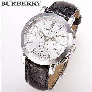 BURBERRY(バーバリー) レザーウォッチ ヘリテージクロノグラフ BU1361