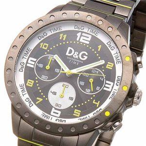D&G(ディー・アンド・ジー) NAVAJO クロノグラフ DW0193/ブラック×イエロー
