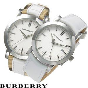 BURBERRY(バーバリー) ヘリテージ ユニセックス ウォッチ BU1379/ホワイトxチェック