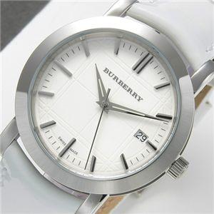 BURBERRY(バーバリー) ヘリテージ ユニセックス ウォッチ BU1380/ホワイトxホワイト