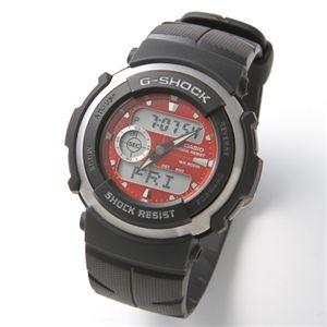 CASIO(カシオ) G-SHOCK 腕時計 メンズラバーベルトウォッチ G-300