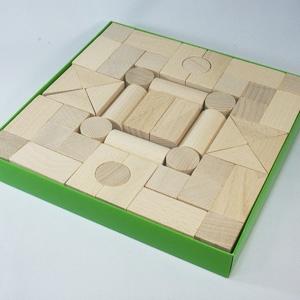 白木の積み木(50)