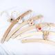 白木のハンガー5本セット 写真1
