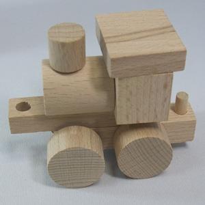 汽車の積み木