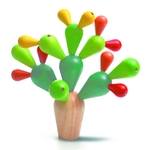 ★PLAN TOYSの木製玩具(木のおもちゃ)★サボテンバランスゲーム