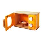 ★PLAN TOYSの木製玩具(木のおもちゃ)★3422★ 電子レンジ