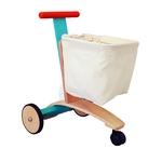 ★PLAN TOYSの木製玩具(木のおもちゃ)★3426★ショッピングカート