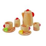★PLAN TOYSの木製玩具(木のおもちゃ)★3433★ ティーセット