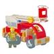 ★PLAN TOYSの木製玩具(木のおもちゃ)★6310★ 消防車 写真1