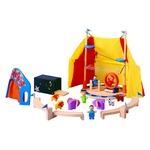 ★PLAN TOYSの木製玩具(木のおもちゃ)★6110★サーカス